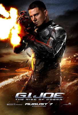 G.I. Joe: Rise of Cobra Character Movie Posters Set 3 - Channing Tatum as Duke