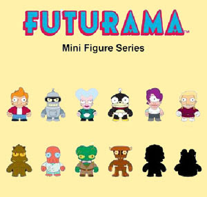 Kidrobot - Futurama Mini Vinyl Figure Series Complete Set Sneak Peek Photo