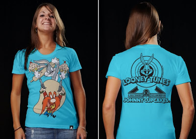 Johnny Cupcakes x Warner Bros. Looney Toons T-Shirts - Yosemite Sam and Bugs Bunny T-Shirt