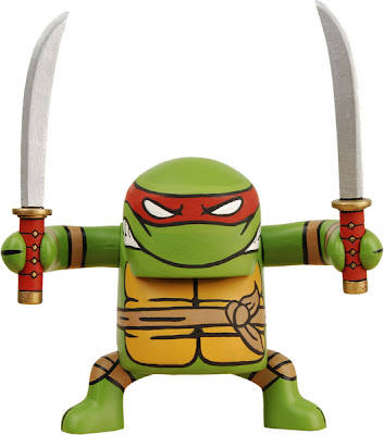 Leonardo Teenage Mutant Ninja Turtle BATSU Vinyl Figure by NECA
