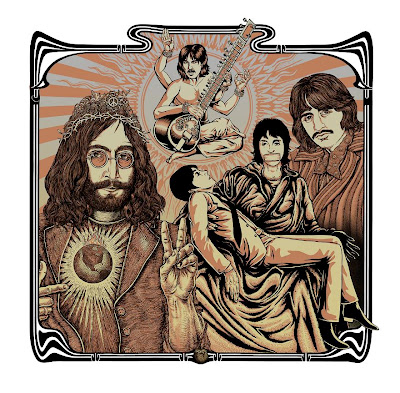 PNE - I'd Love To Turn You On Special Edition The Beatles Art Print by Justin Hampton, Emek & Jermaine Rogers