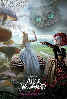 Alice In Wonderland Theatrical One Sheet Movie Poster