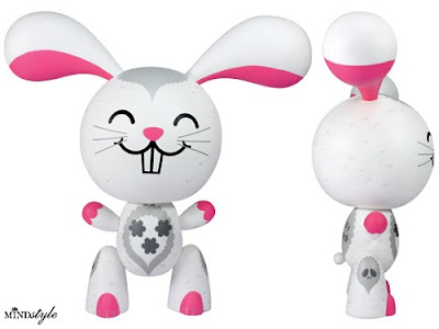 MINDstyle - 8 Inch Buff Bunny Viny Figure by Buff Monster