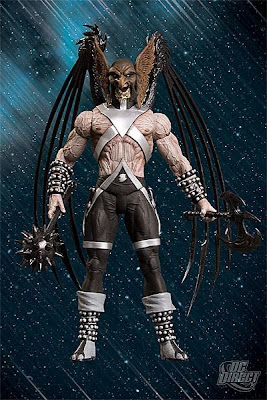 DC Direct Blackest Night Series 5 - Black Lantern Hawkman Action Figure