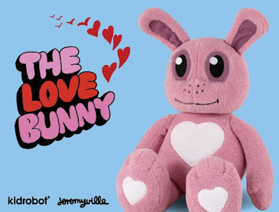 Kidrobot x Jeremyville The Love Bunny Plush Figure