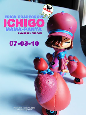 Tomenosuke Exclusive Ichigo Mama Panya with Berry Shroom by Erick Scarecrow