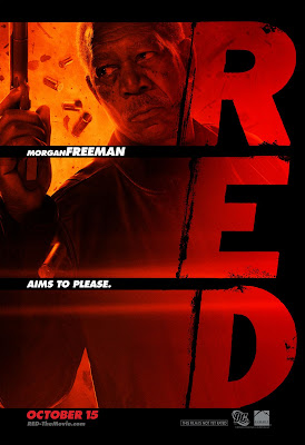 RED One Sheet Character Movie Posters - Morgan Freeman as Joe Matheson