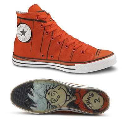 Converse Dr. Seuss Sneaker Collection - Dr. Seuss High Top Thing Numbers 1 & 2 Chuck Tyalor All Star Sneakers