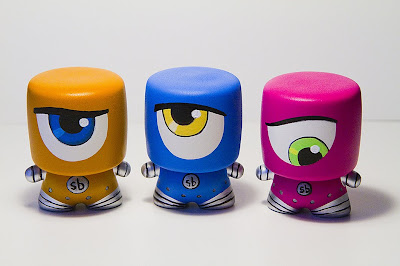 Tenacious Toys Marshall Blind Box Custom Series - Sketchbot Marshalls by Steve Talkowski