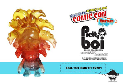New York Comic-Con 2010 Exclusive Pretty Boi Dramatic Bastard 5.5 Inch Resin Figure by Erick Scarecrow