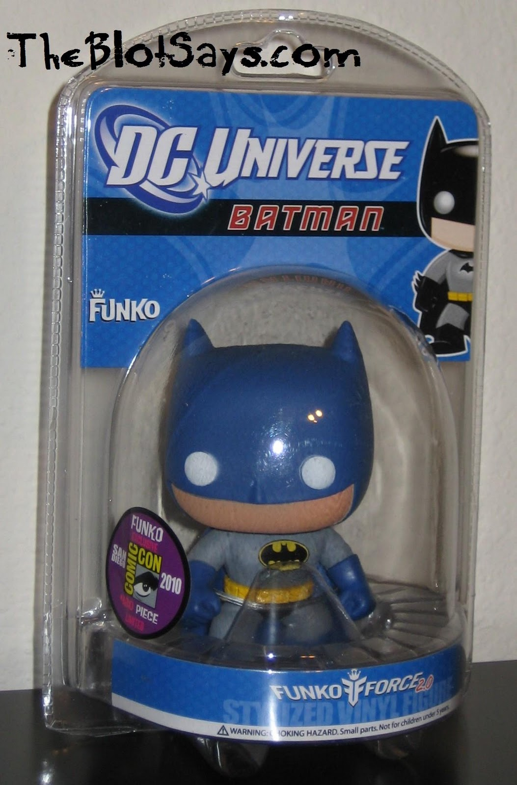 4cfb55ffb81a San Diego Comic-Con 2010 Exclusive Blue and Gray Batman DC Universe Pop!  Heroes