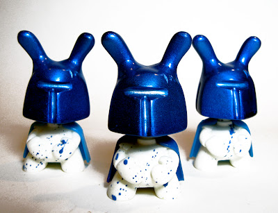 Designer Con Exclusive Blue Magic Dumny Bootleg Dunny Resin Figure by Sucklord