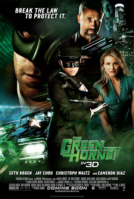 The Green Hornet Final One Sheet Movie Poster