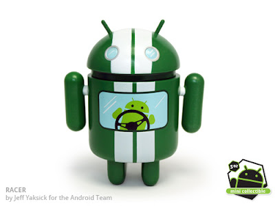 Android Series 02 - Racer Vinyl Figure by Jeff Yaksick for the Android Team