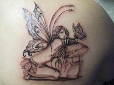 Fairy Tattoos Pictures on Women S Ink  More Fairy Tattoos
