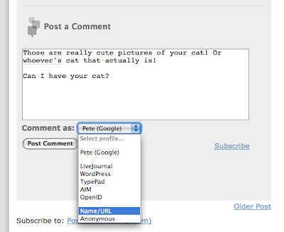 Official Blogger Blog: Commenting made easier