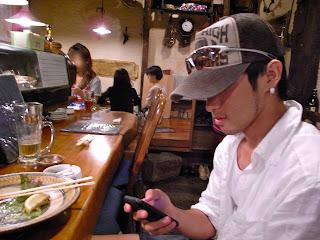 iPhone とイケメン