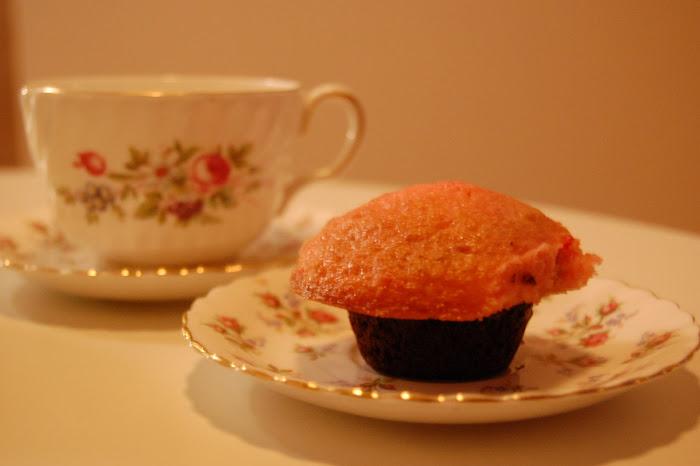 Mini-Valentine's Day Cupcake