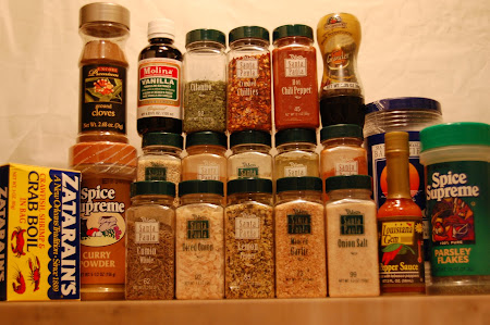 "My 99 Cent Only Spice ""Rack"""