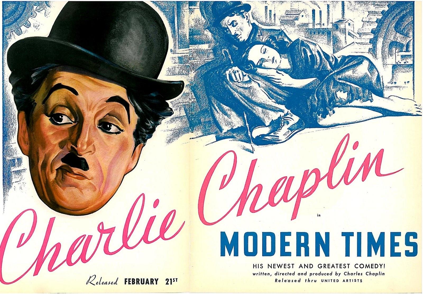 modern times film critique « modern times » (« les temps modernes  dans ce film, chaplin adresse de nombreuses critiques au monde moderne et utilise la comédie et l'humour burlesque.