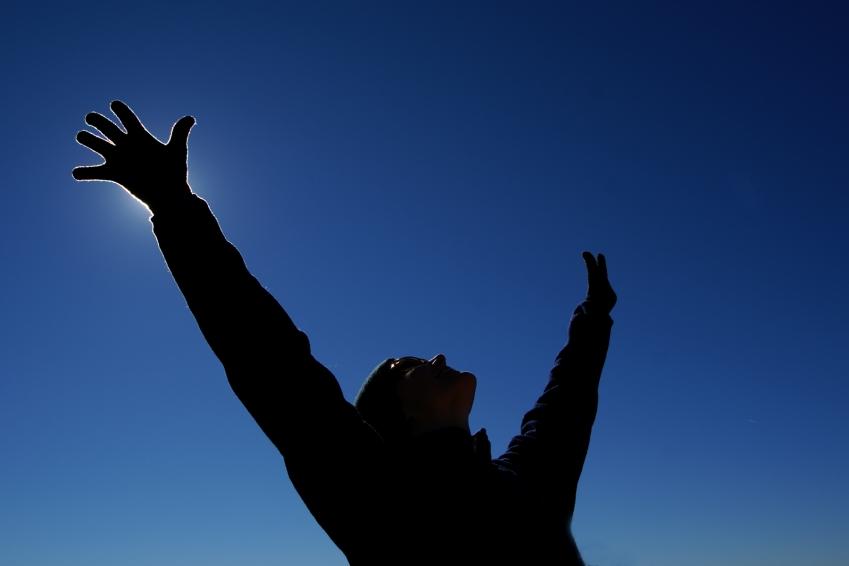 Mulher Vermelha ♥: Levante Suas Mãos Para O Céu