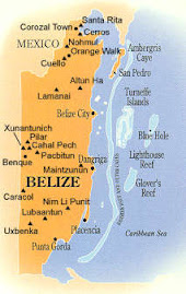 The Map of Belize