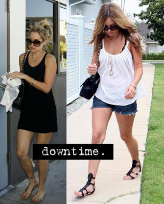 lauren conrad in shorts. lauren conrad short hair