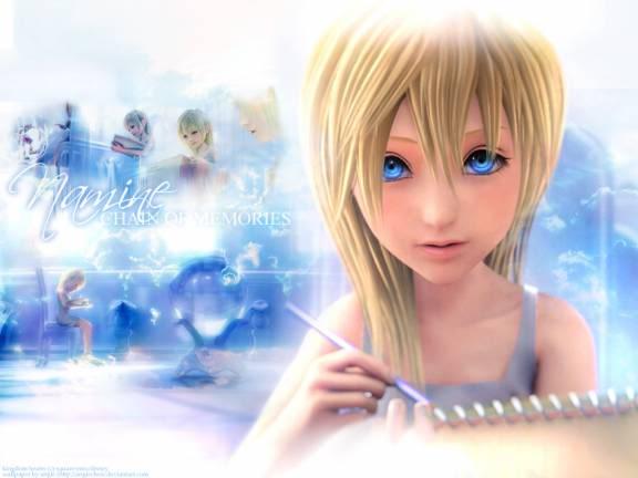 Kingdom Hearts Namine And Kairi Anime Anime Feet: Kin...