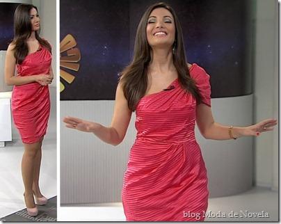cf9fc13c7d Para você ter um vestido igualzinho ao da Patrícia Poeta é só entrar em  contato conosco