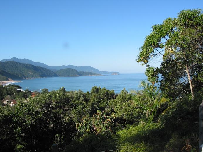 vista panorâmica Trindade, Paraty