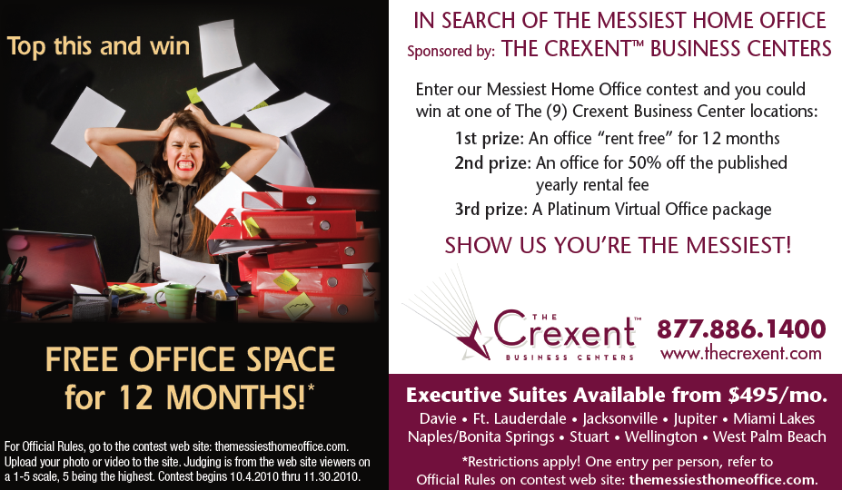 In Search Of The Messiest Home Office Sponsored By Crexent Business Centers