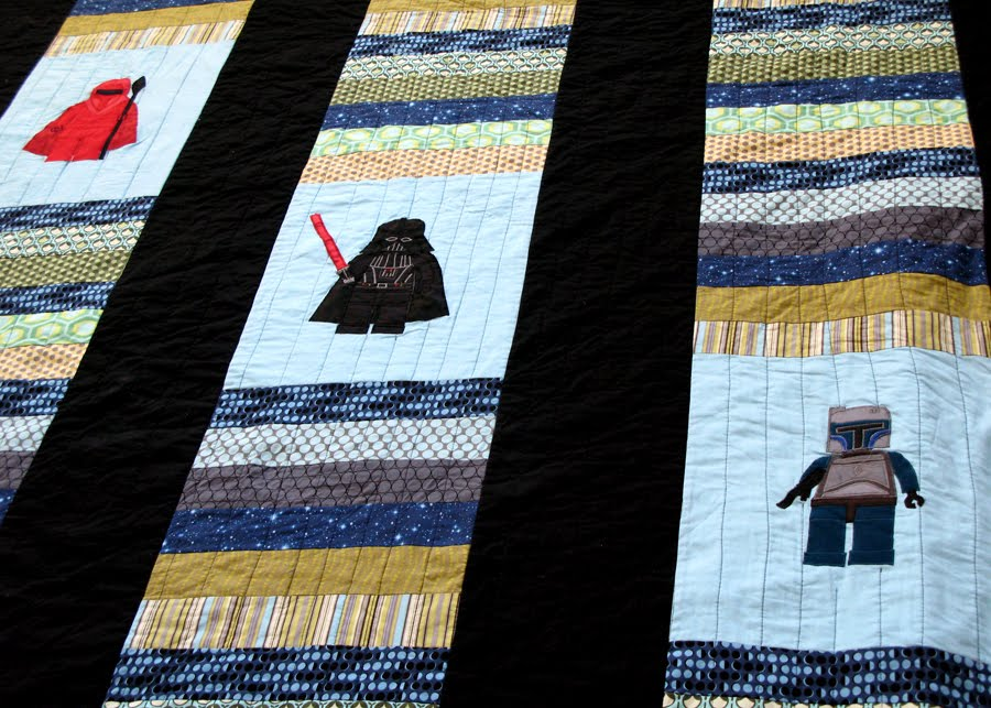 Modest Maven Lego Star Wars Quilt