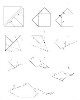 diagrama raton Tutorial Origami Raton
