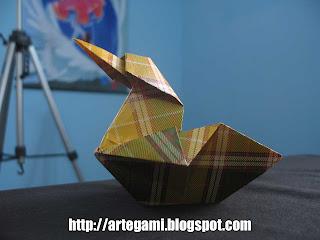 cisne Tutorial Origami Cisne