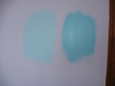 Paint Samples on Haley Is A Lover Of Color  Her Current Room Is Bright Sunshine Yellow