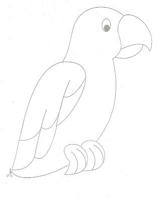 Deniz yasemen hayvanlar 21 papağanı tamamlayalım boyama