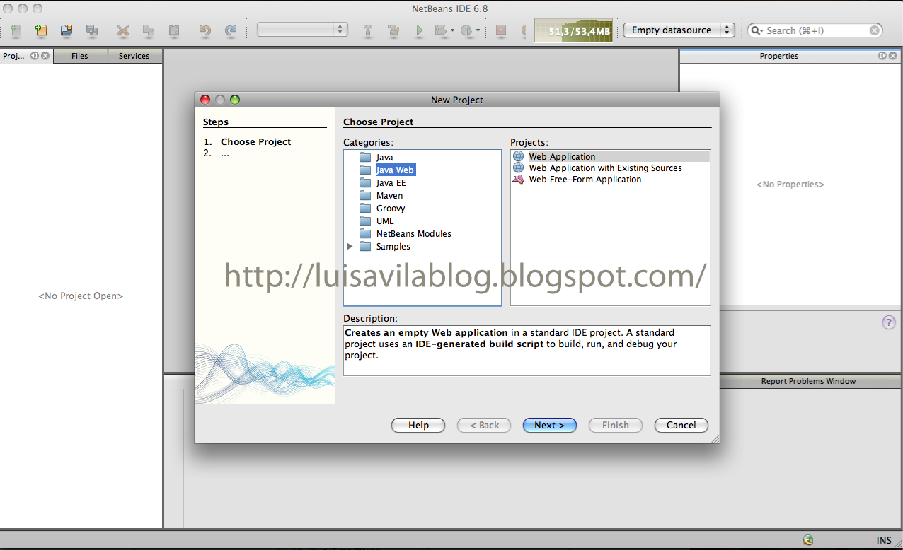 visual web javaserver faces netbeans 6.8