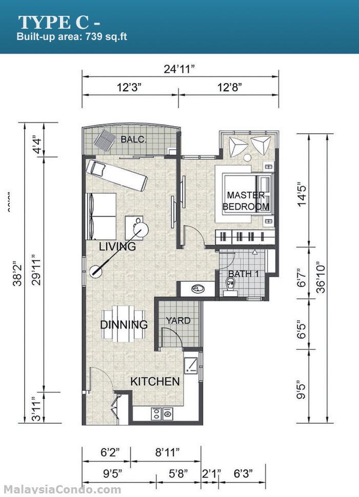 Endah Promenade Residence Suites Malaysiacondo