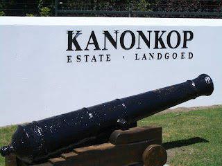 Kanonkop Estate Entrance