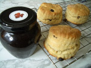 My homemade scones