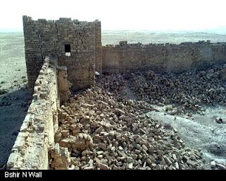 Information about Fort Bashir (Qasir Bashir): written about by Johann Ludwig Burckhardt around 1812 (5/6)