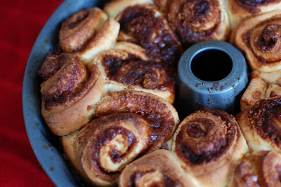 Cinnamon Roll Monkey Bread Bundt With Cream Cheese Frosting