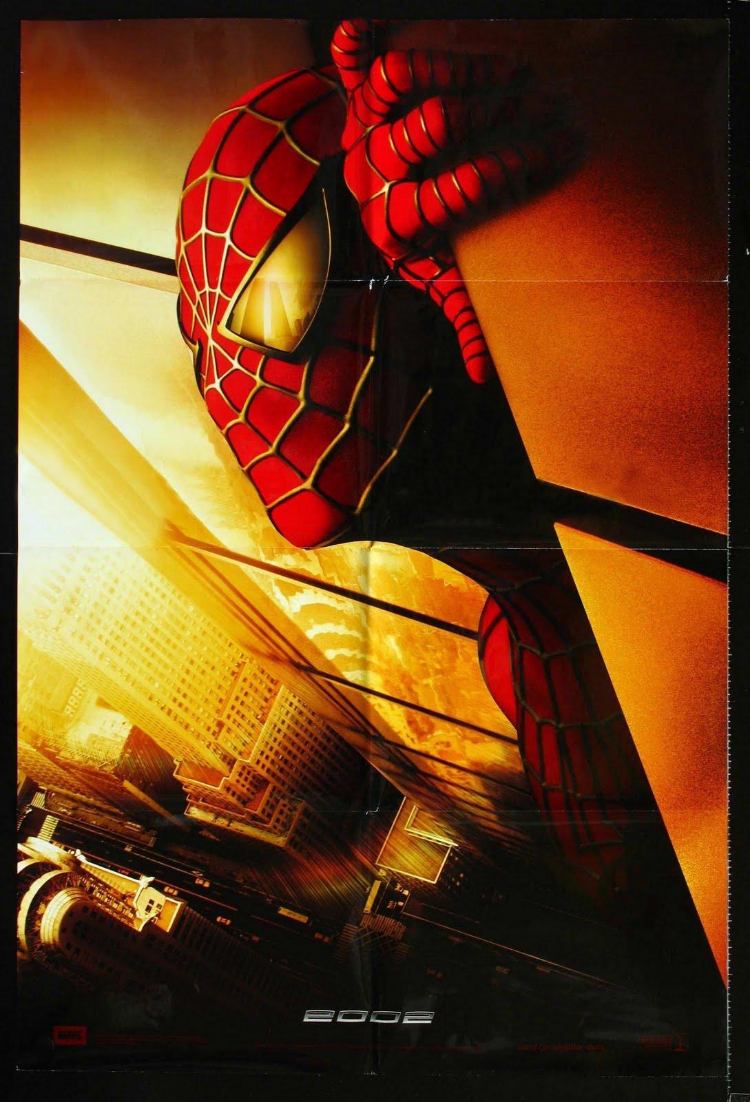 """: Movie Poster: """"Spider-Man"""" [2002] (Recalled Poster)"""