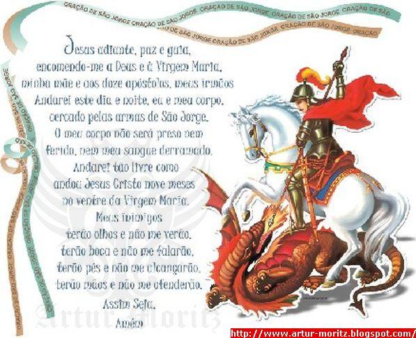 Imagens De Sao Jorge Com Frases