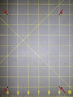 Papercrazy S Tutorials Making A Grid Border Template