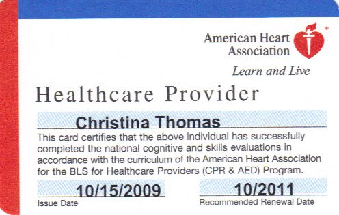 Cpr Card Template Received My Cpr First Aid And Aed