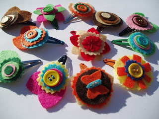 Handmade by Carlab: Ganchos/ Hair clips
