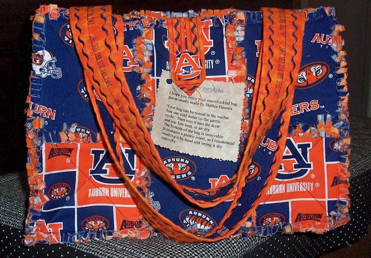 Karen's Auburn Bag