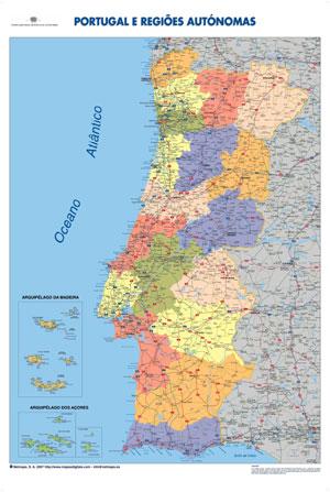 mapa de portugal com freguesias Ai Portugal Portugal! mapa de portugal com freguesias