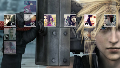 psp themen, free psp themes, Final Fantasy VII Themen für PSP